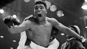 Ali believed in himself and shocked the world when he defeated Sonny Liston...