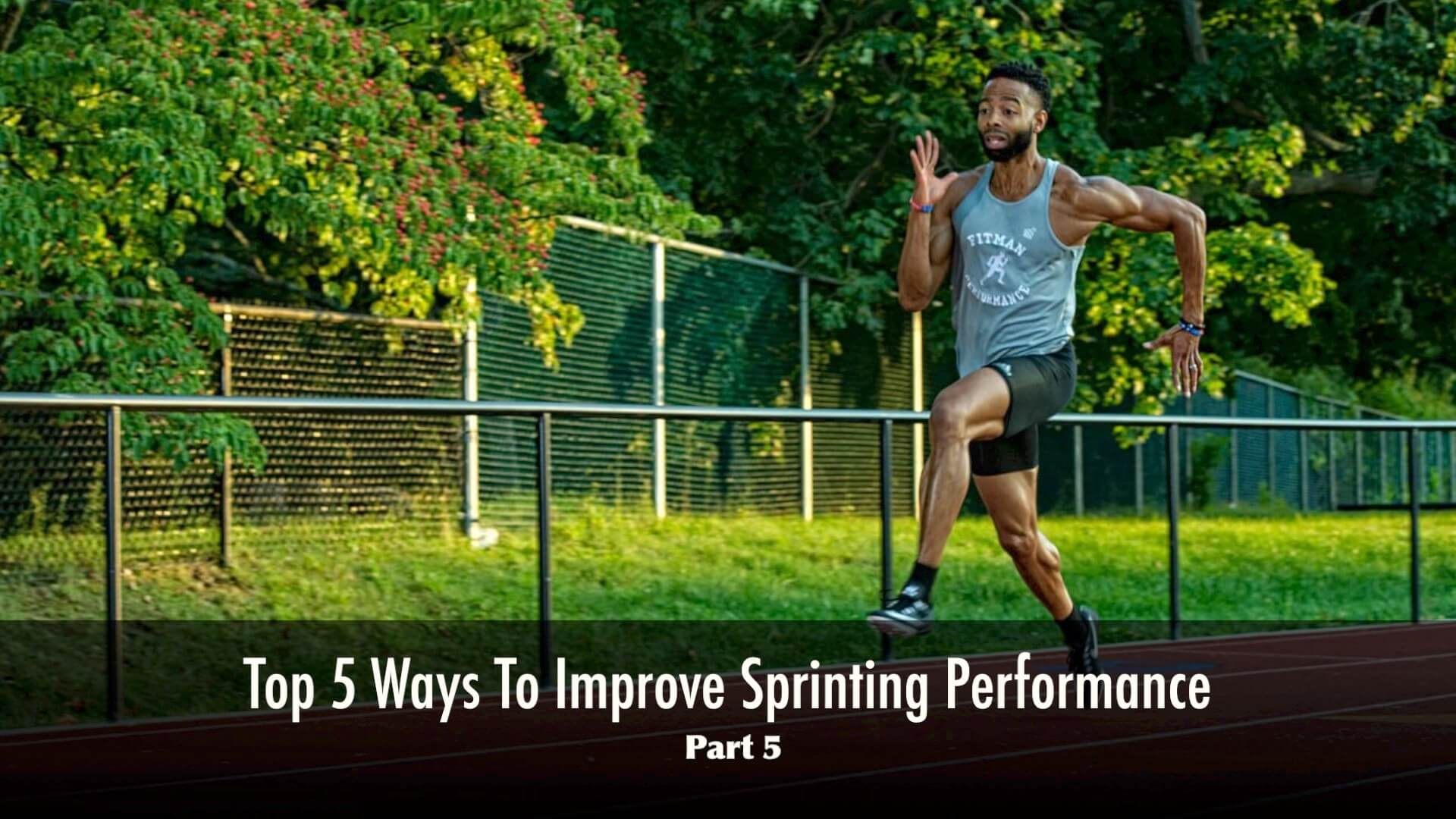 Why Consistency Is Important For Sprinters (Video)