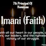 Imani: The 7th Principal Of Kwanzaa